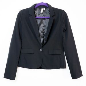 Frenchi | One Button Fitted Blazer